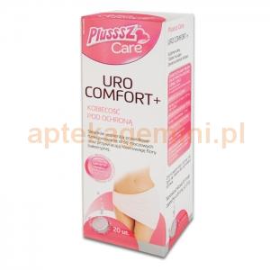 POLSKI LEK Plusssz Care Uro Comfort+, 20 tabletek musujących