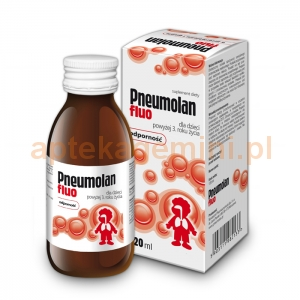 Walmark Pneumolan Fluo, płyn, dla dzieci od 3 lat, 120ml