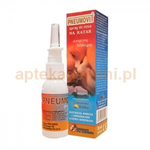 GORVITA PNEUMOVIT, spray do nosa, dla dzieci od 1 roku życia i dorosłych, 35ml
