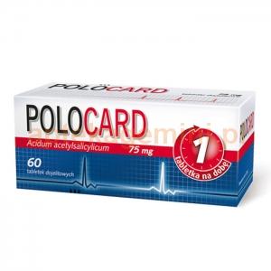 PFIZER Polocard 75mg, 60 tabletek