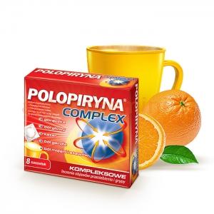 POLPHARMA Polopiryna Complex, 8 saszetek