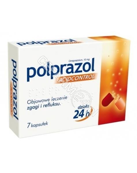 POLPHARMA Polprazol acidcontrol 10 mg x 7 kaps