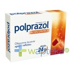 ZAKŁADY FARMACEUTYCZNE POLPHARMA S.A. Polprazol AcidControl 14 kapsułek