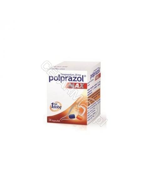 MEDANA PHARM Polprazol max 20 mg x 14 kaps dojelitowych