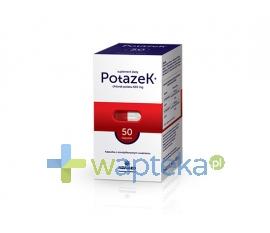 ADAMED CONSUMER HEALTHCARE S.A. Potazek 610 mg 50 kapsułek