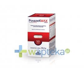 ADAMED CONSUMER HEALTHCARE S.A. Potazek MAX 50 kapsułek