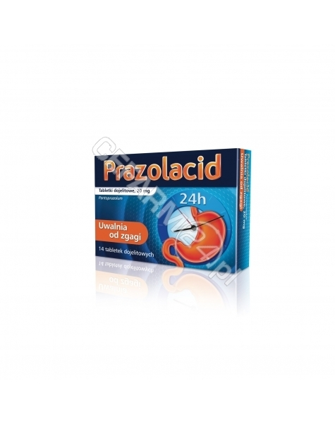ICN POLFA RZ Prazolacid 20 mg x 14 tabl dojelitowych