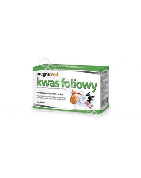 SEQUOIA Pregnamed kwas foliowy 0,4 mg x 60 tabl