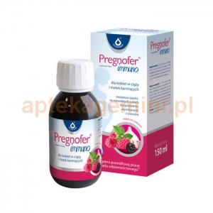 OLEOFARM Pregnofer Immuno, płyn, 150ml