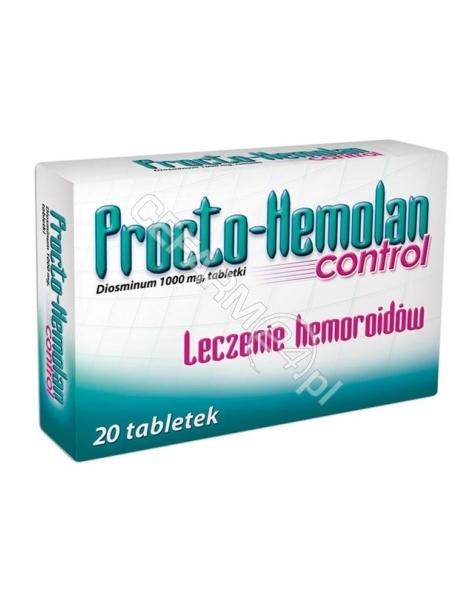AFLOFARM Procto-hemolan control x 20 tabl