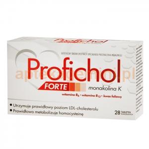 N.P.ZDROVIT SP Z O.O. Profichol Forte 28 tabletek
