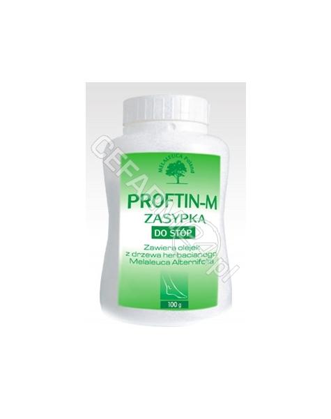 MELALEUCA PO Proftin-m przeciwgrzybicza zasypka do stóp 100 g