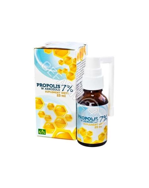 GAL Propolis 7% w aerozolu płyn 25 ml (GAL)