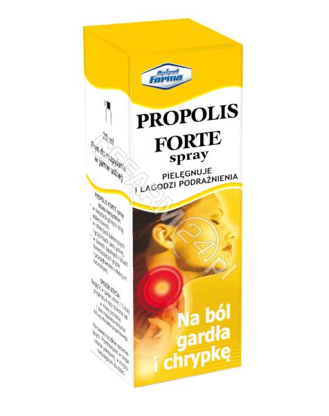 APIPOL-FARMA Propolis forte spray do pielęgnacji jamy ustnej 20 ml