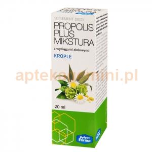 APIPOL FARMA Propolis Plus Mikstura, krople, 20ml