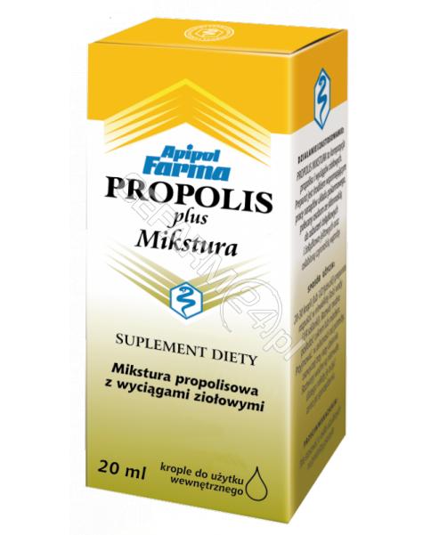 APIPOL-FARMA Propolis plus mixtura 20 ml