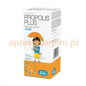 APIPOL FARMA Propolis Plus, syrop, od 3 lat, 120ml