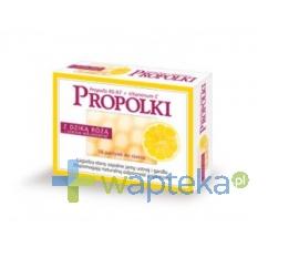 NEPENTES S.A. Propolki z dziką różą i sokiem malinowym 16 pastylek