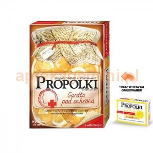 Nepentes Propolki z witaminą C, 16 pastylek do ssania