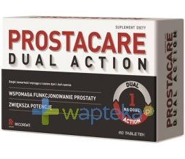 RECORDATI POLSKA SP. Z O.O. Prostacare Dual Action 60 tabletek