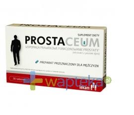 PRZEDSIĘBIORSTWO FARMACEUTYCZNE LEK-AM SP. Z O.O. Prostaceum 30 tabletek