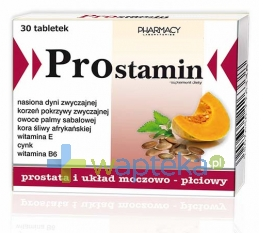 PHARMACY LABORATORIES PROSTAMIN 30 tabletek
