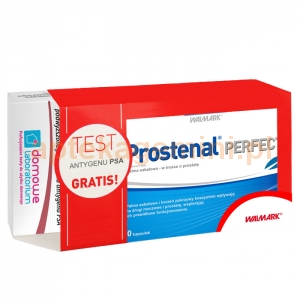 Walmark Prostenal Perfect, 30 kapsułek + test antygenu PSA, 1 sztuka