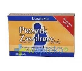 FA LANGSTEINER Proszek zasadowy TABS 30 tabletek