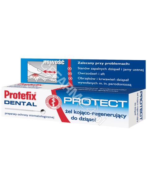 QUEISSER Protefix protect żel kojąco-regenerujący do dziąseł 10 ml