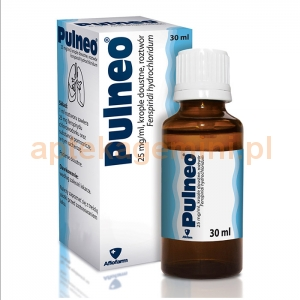 Aflofarm Pulneo, krople 25mg/1ml, 30ml