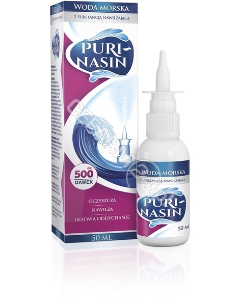 AERO-MEDIKA Purinasin woda morska 50 ml