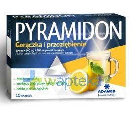 ADAMED CONSUMER HEALTHCARE S.A. Pyramidon (Calcastin C) 10 saszetek