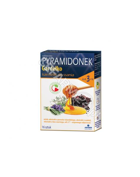 ADAMED Pyramidonek gardełko x 16 karmelków