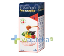 ADAMED CONSUMER HEALTHCARE S.A. Pyramidonek Temperaturka płyn 100 ml