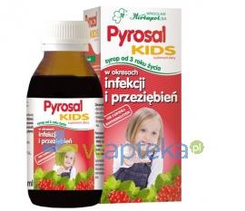 WROCŁAWSKIE ZAKŁADY ZIELARSKIE Pyrosal Kids syrop 100 ml