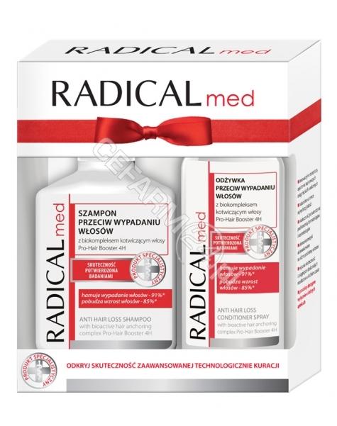 IDEEPHARM Radical med zestaw - szampon przeciw wypadaniu włosów 300 ml + odżywka przeciw wypadaniu włosów w sprayu 200 ml GRATIS!!!
