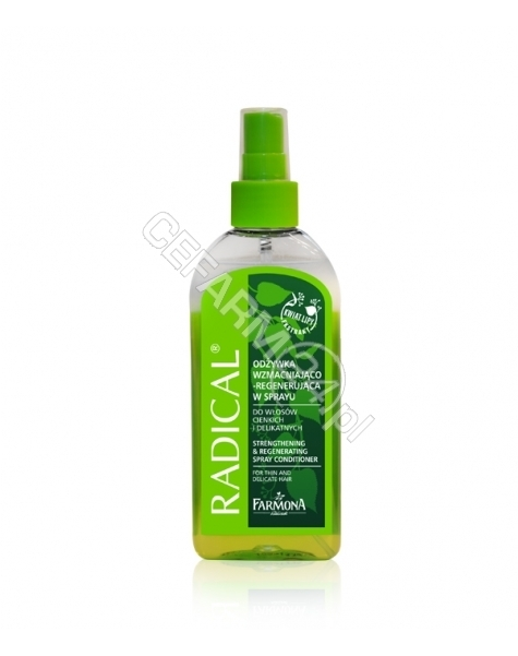 FARMONA Radical odżywka wzmacniająco - regenerująca w spray do włosów cienkich i delikatnych 200 ml