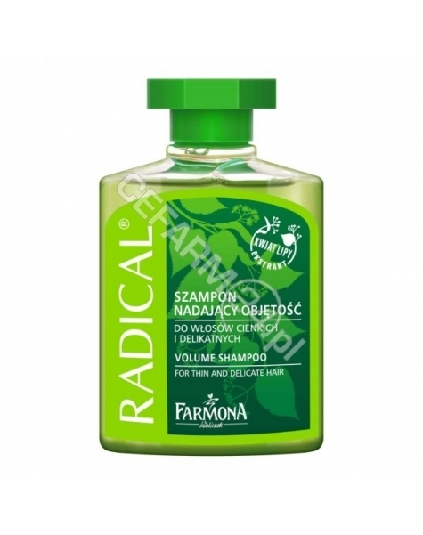 FARMONA Radical szampon nadający objętość do włosów cienkich i delikatnych 330 ml