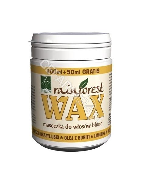 A-Z MEDICA Rainforest wax maseczka do włosów blond i siwych 250 ml