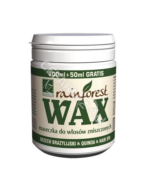 A-Z MEDICA Rainforest wax maseczka do włosów zniszczonych 250 ml