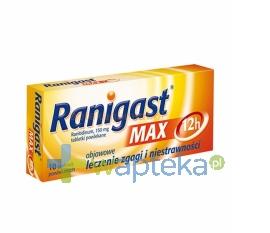 ZAKLADY FARM. Ranigast Max 10 tabletek