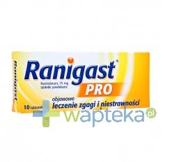 ZAKŁADY FARM. Ranigast Pro 75mg 10 tabletek