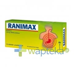 TORRENT PHARMACEUTICALS LTD. Ranimax 150 mg 10 tabletek