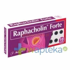 HERBAPOL-WROCLAW S.A. Raphacholin forte 10 tabletek