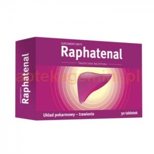 NORD FARM Raphatenal, 30 tabletek