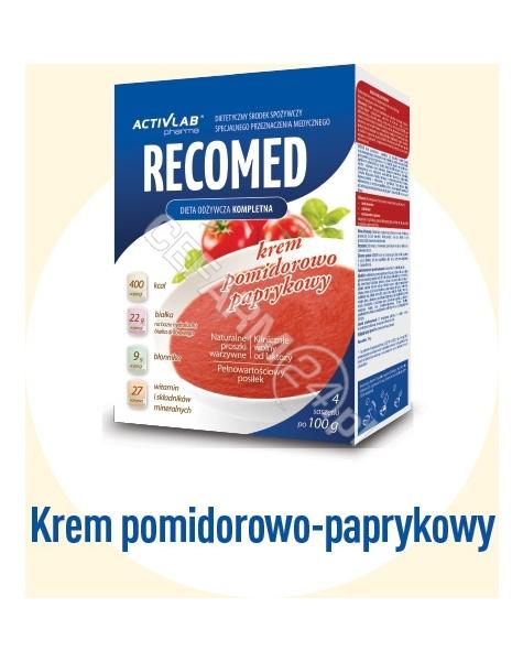REGIS Recomed krem pomidorowo - paprykowy 100 g x 4 sasz (data ważności 11.02.2016)