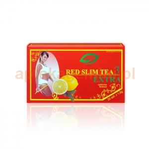 ELANDA Red Slim Tea 3 Extra, cytryna, 20 saszetek