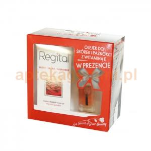 EQUALAN Regital, 60 tabletek + olejek do skórek i paznokci z witaminą E, 11ml