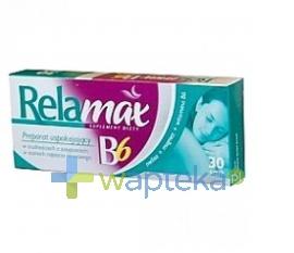 ICN POLFA RZESZÓW S.A. Relamax B6 30 tabletek