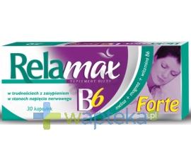 ICN POLFA RZESZÓW S.A. Relamax B6 Forte 30 kapsułek